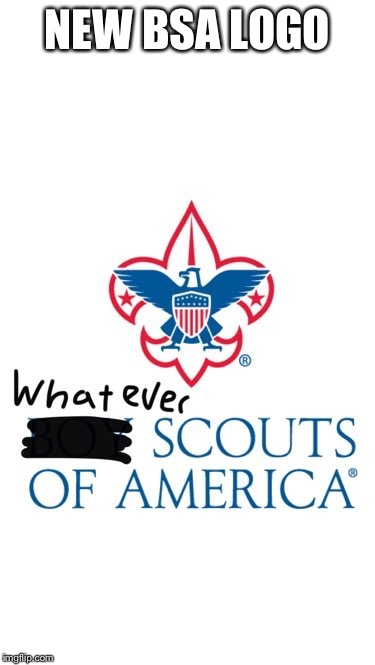 NEW BSA LOGO | image tagged in bsa,feminism | made w/ Imgflip meme maker