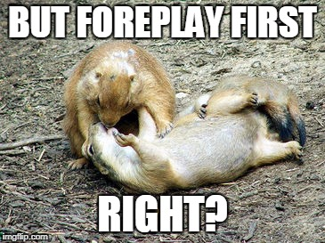 BUT FOREPLAY FIRST RIGHT? | made w/ Imgflip meme maker