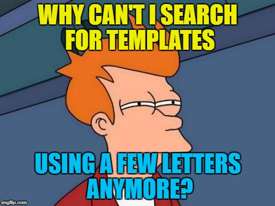 "I put in ""sudd"" to get ""Sudden Clarity Clarence"" but it didn't come up :( 