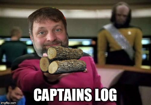 CAPTAINS LOG | made w/ Imgflip meme maker