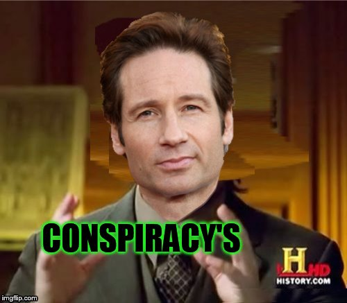 Fox Aliens | CONSPIRACY'S | image tagged in fox aliens | made w/ Imgflip meme maker