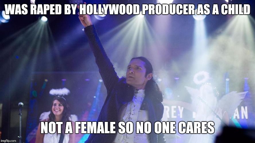 Corey Feldman | WAS **PED BY HOLLYWOOD PRODUCER AS A CHILD NOT A FEMALE SO NO ONE CARES | image tagged in corey feldman | made w/ Imgflip meme maker