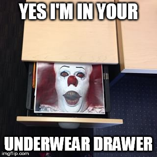 YES I'M IN YOUR UNDERWEAR DRAWER | made w/ Imgflip meme maker