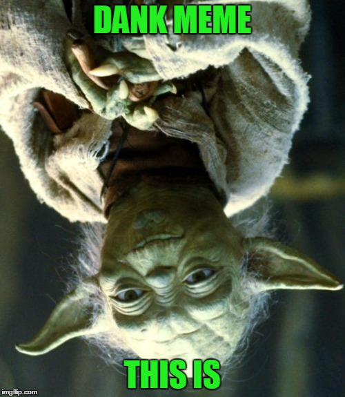 Star Wars Yoda Meme | DANK MEME THIS IS | image tagged in memes,star wars yoda | made w/ Imgflip meme maker