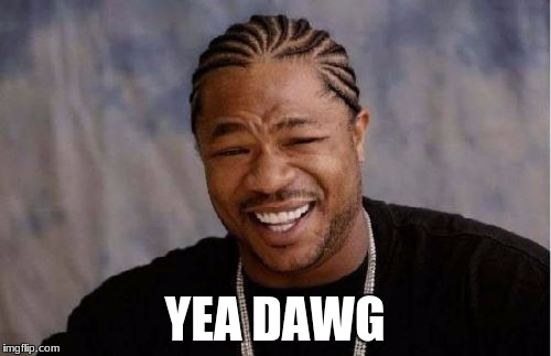 Yo Dawg Heard You Meme | YEA DAWG | image tagged in memes,yo dawg heard you | made w/ Imgflip meme maker