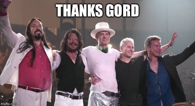 THANKS GORD | made w/ Imgflip meme maker