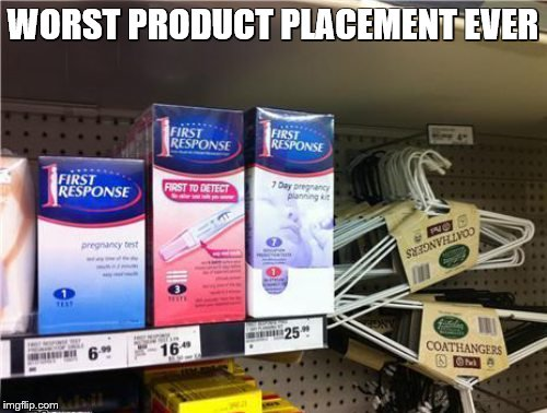 WORST PRODUCT PLACEMENT EVER | made w/ Imgflip meme maker