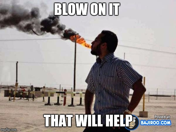 BLOW ON IT THAT WILL HELP | made w/ Imgflip meme maker