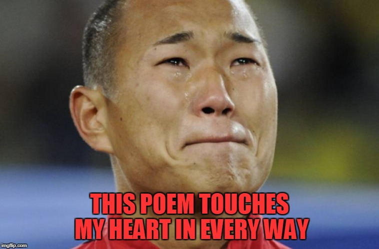 THIS POEM TOUCHES MY HEART IN EVERY WAY | made w/ Imgflip meme maker