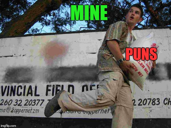 MINE PUNS | made w/ Imgflip meme maker
