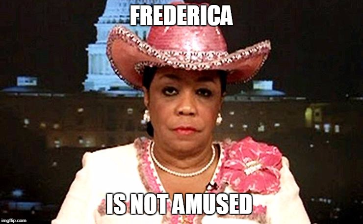 FREDERICA IS NOT AMUSED | made w/ Imgflip meme maker