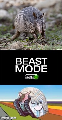 image tagged in beast mode | made w/ Imgflip meme maker