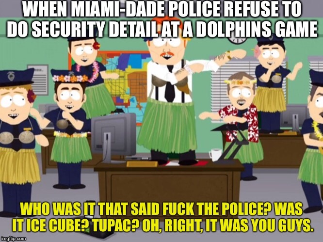 It Finally Happened | image tagged in funny,south park,blm,police,dancing | made w/ Imgflip meme maker