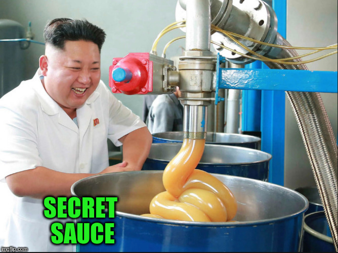 SECRET SAUCE | made w/ Imgflip meme maker