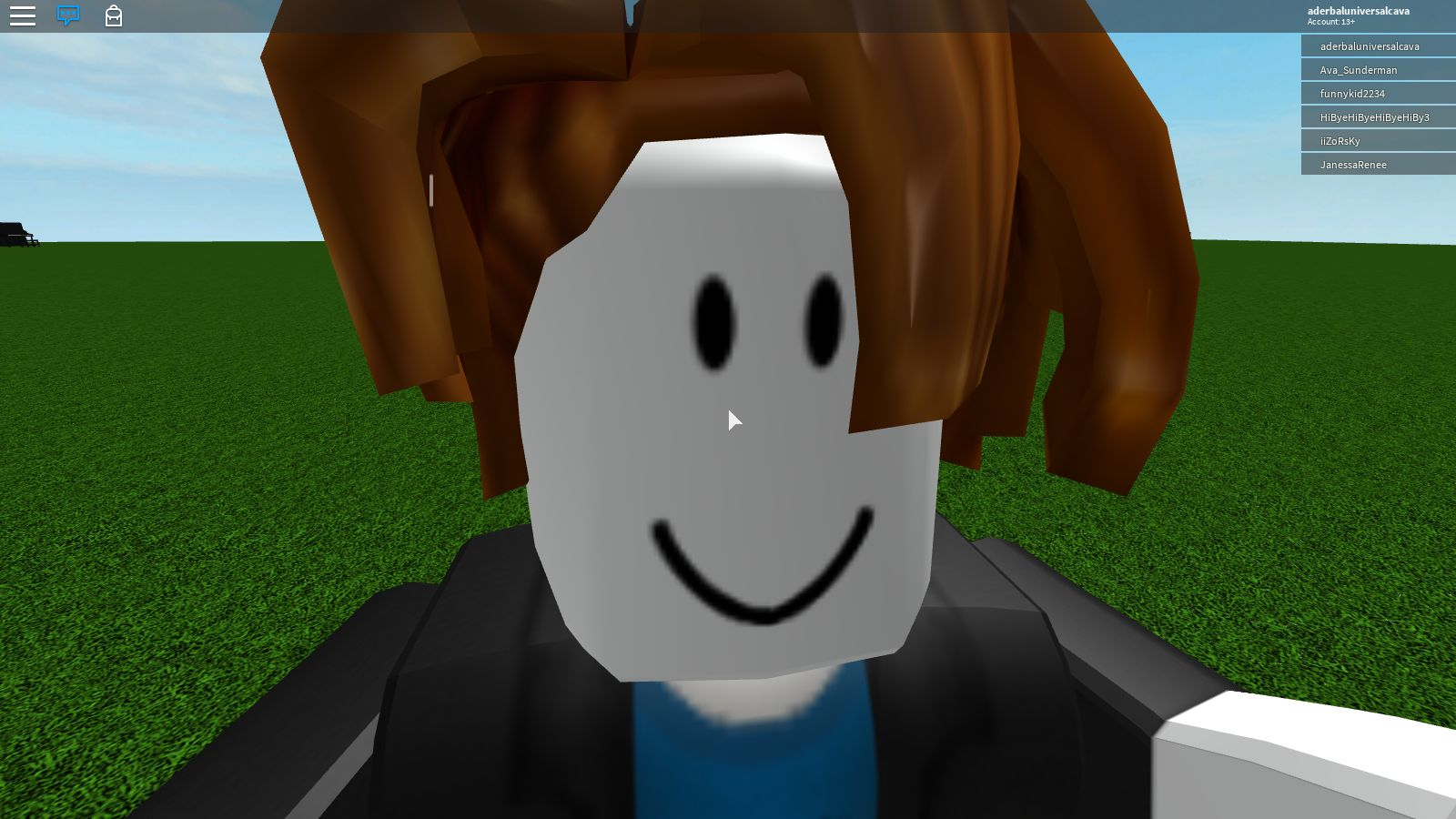Roblox Bacon Hair Blank Template Imgflip