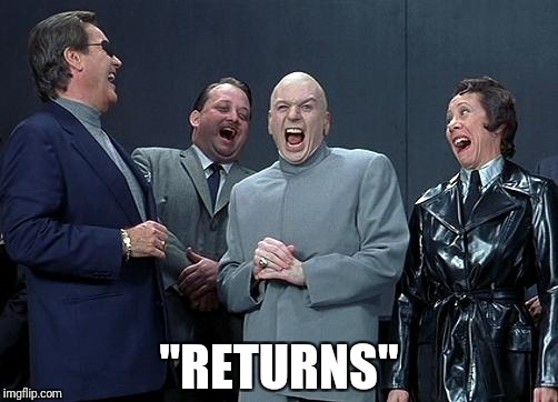 "evil laughing group | ""RETURNS"" 