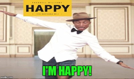I'M HAPPY! | made w/ Imgflip meme maker