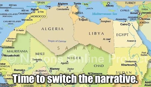 Niger | Time to switch the narrative. | image tagged in trump | made w/ Imgflip meme maker