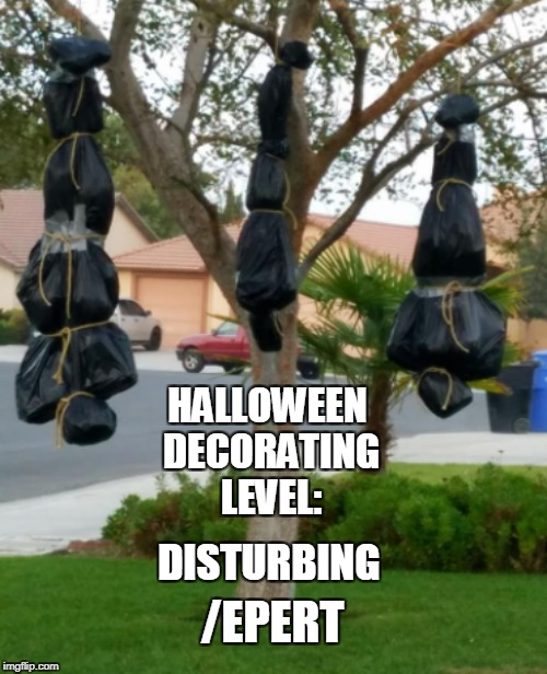 "Halloween decorations taken down after being called ""racially offensive"" 