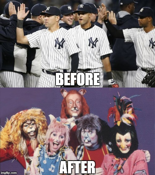 Justin Verlander vs. The Bronx Zoo | BEFORE AFTER | image tagged in justin verlander,yankees,astros,new york,houston,alcs | made w/ Imgflip meme maker