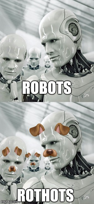 ROBOTS ROTHOTS | image tagged in thots,robots,puns,memes,funny | made w/ Imgflip meme maker