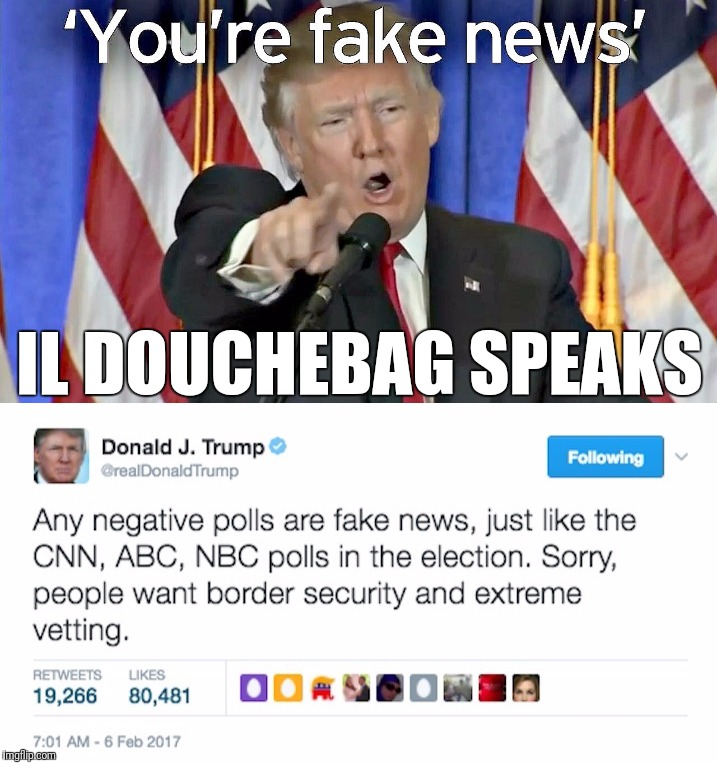 IL DOUCHEBAG SPEAKS | made w/ Imgflip meme maker