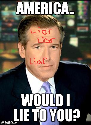 KEEPING IT REAL | AMERICA.. WOULD I LIE TO YOU? | image tagged in memes,brian williams was there 3 | made w/ Imgflip meme maker