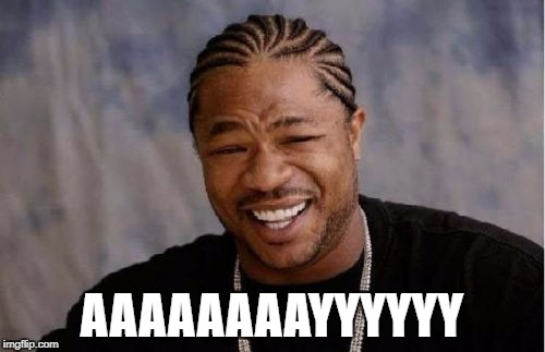 AAAAAAAAYYYYYY | image tagged in memes,yo dawg heard you | made w/ Imgflip meme maker