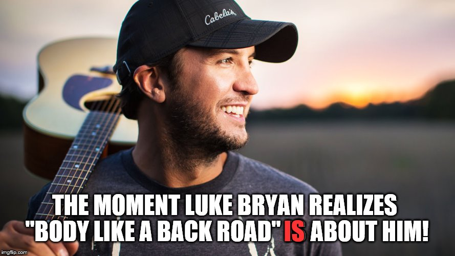"In an interview, Luke Bryan talks openly about his BFF Sam Hunt... | THE MOMENT LUKE BRYAN REALIZES ""BODY LIKE A BACK ROAD"" IS ABOUT HIM! IS 