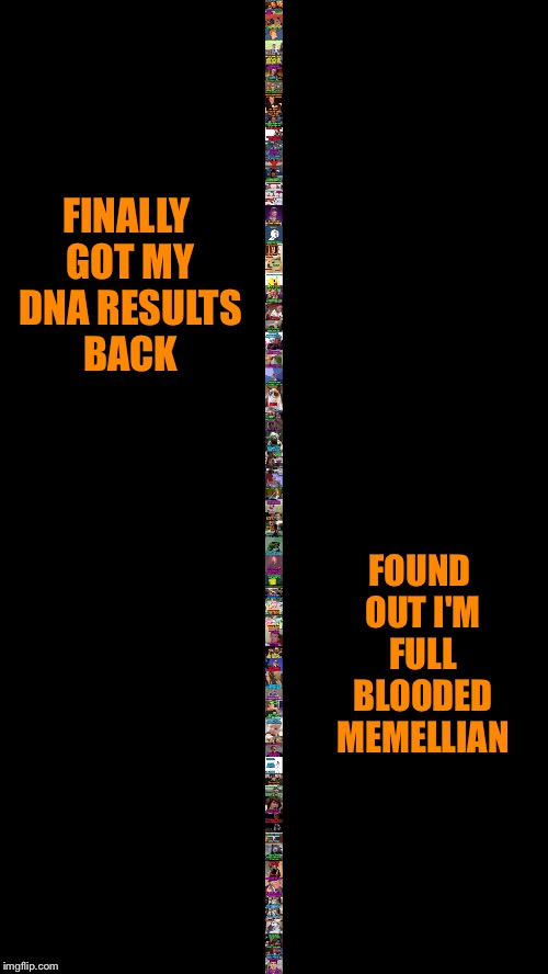 I'm a full blooded Memellian! | FINALLY GOT MY DNA RESULTS BACK FOUND OUT I'M FULL BLOODED MEMELLIAN | image tagged in memes,23 and me,dna,dna results,mammal,full blooded | made w/ Imgflip meme maker