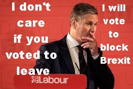 image tagged in labour starmer block brexit | made w/ Imgflip meme maker