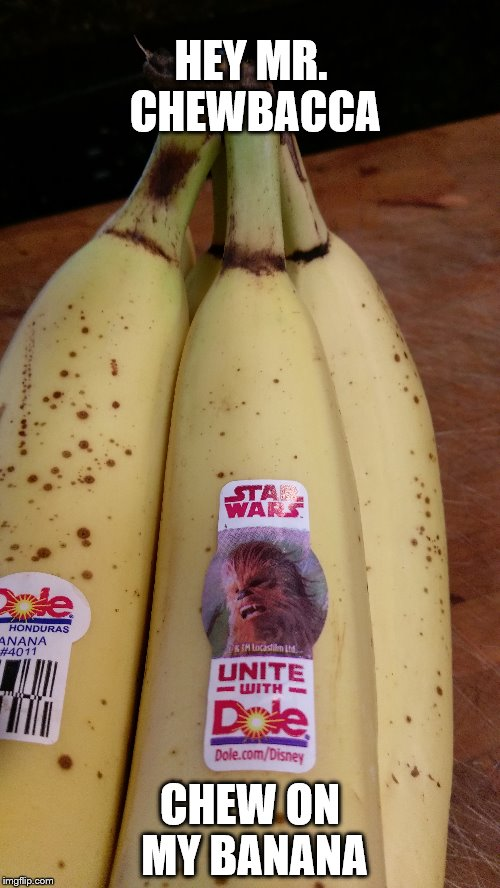 Chewbacca Banana Imgflip