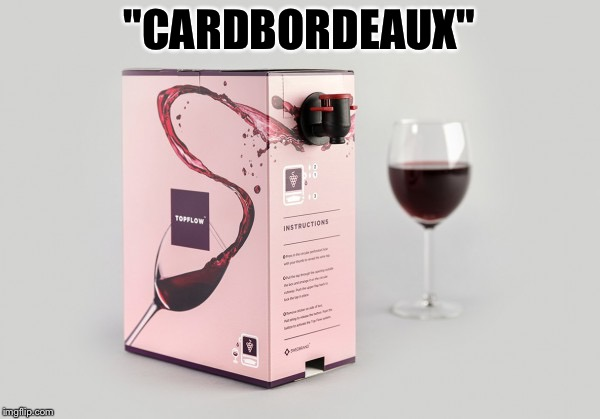 """CARDBORDEAUX"" 