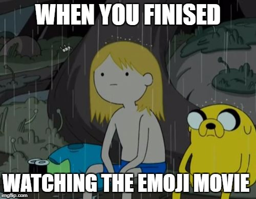 Life Sucks Meme | WHEN YOU FINISED WATCHING THE EMOJI MOVIE | image tagged in memes,life sucks | made w/ Imgflip meme maker