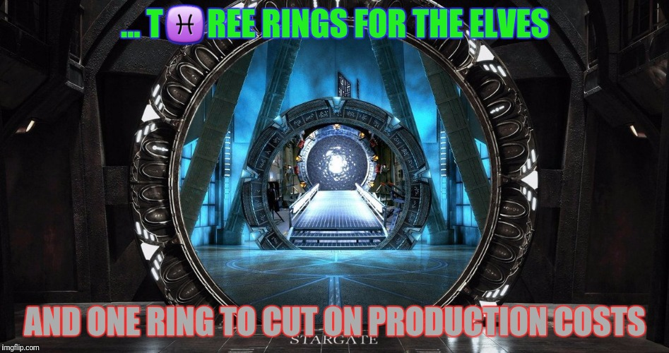 ... T♓REE RINGS FOR THE ELVES AND ONE RING TO CUT ON PRODUCTION COSTS | made w/ Imgflip meme maker