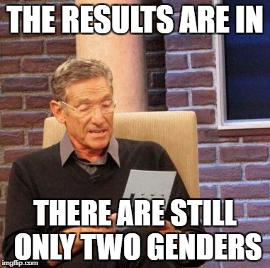 Maury Lie Detector Meme | THE RESULTS ARE IN THERE ARE STILL ONLY TWO GENDERS | image tagged in memes,maury lie detector | made w/ Imgflip meme maker