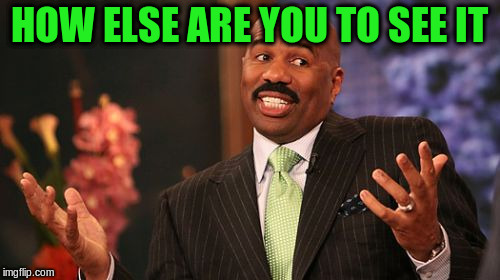 Steve Harvey Meme | HOW ELSE ARE YOU TO SEE IT | image tagged in memes,steve harvey | made w/ Imgflip meme maker