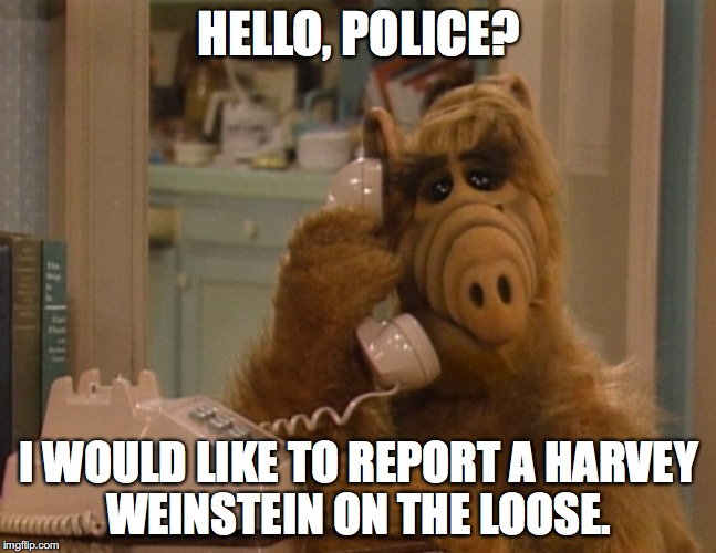 "Harvey left ""rehab"" after one week. Heard any condemnation from Hollywood? Nope.  