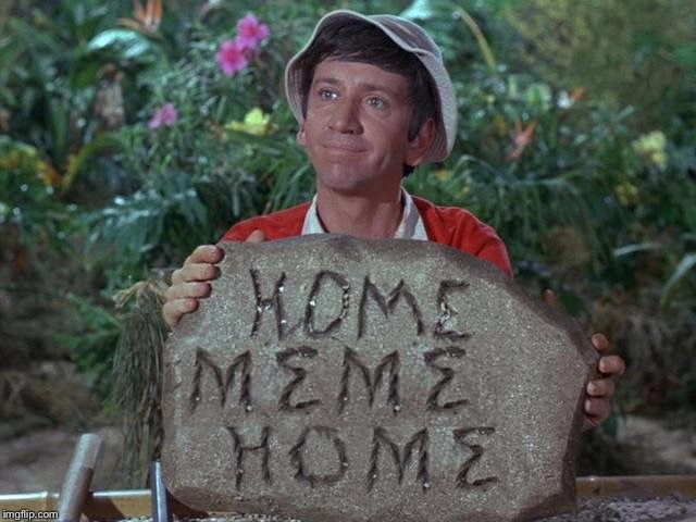 Gilligans Memeland | image tagged in gillimeme,island thousands | made w/ Imgflip meme maker