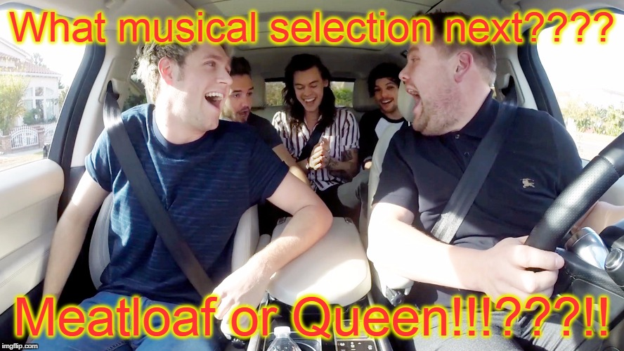 KARAOKE | What musical selection next???? Meatloaf or Queen!!!???!! | image tagged in karaoke | made w/ Imgflip meme maker