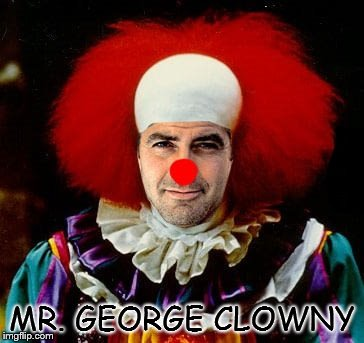 MR. GEORGE CLOWNY | image tagged in mr george clowny | made w/ Imgflip meme maker
