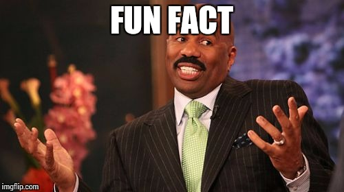 Steve Harvey Meme | FUN FACT | image tagged in memes,steve harvey | made w/ Imgflip meme maker