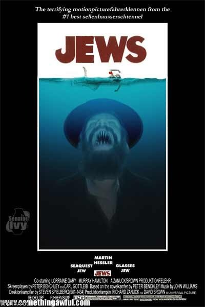 image tagged in jaws jew | made w/ Imgflip meme maker