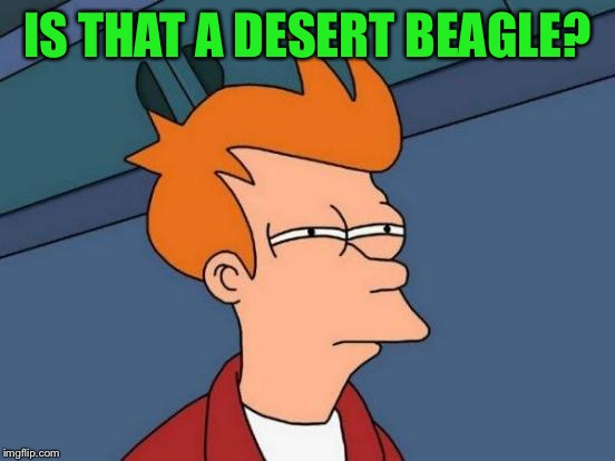 Futurama Fry Meme | IS THAT A DESERT BEAGLE? | image tagged in memes,futurama fry | made w/ Imgflip meme maker