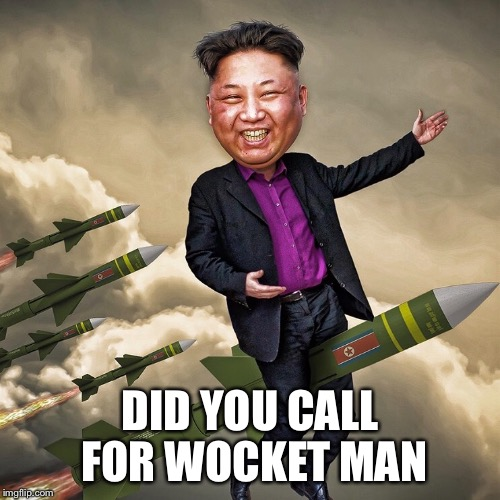 DID YOU CALL FOR WOCKET MAN | made w/ Imgflip meme maker