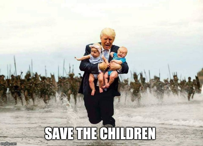 SAVE THE CHILDREN | made w/ Imgflip meme maker