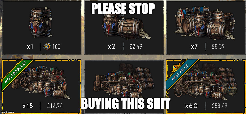 PLEASE STOP BUYING THIS SHIT | image tagged in gaming | made w/ Imgflip meme maker