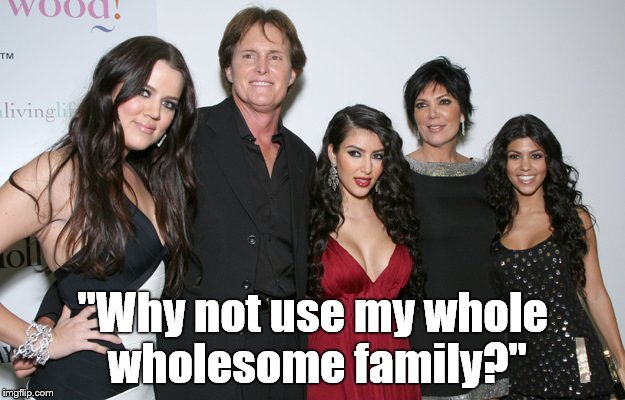 "Jenner Christmas | ""Why not use my whole wholesome family?"" 
