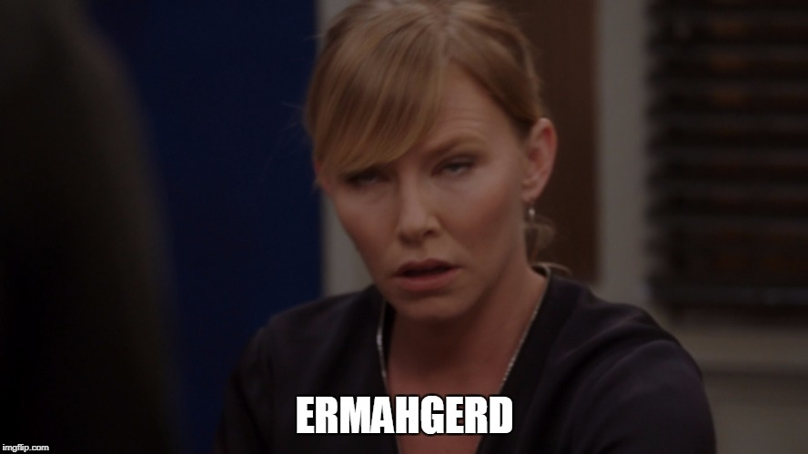 ermahgerd | ERMAHGERD | image tagged in ermagherd,law and order | made w/ Imgflip meme maker