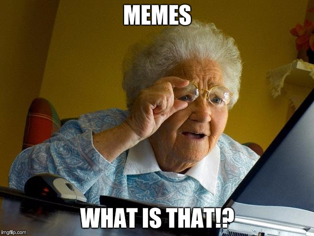Old lady discovers my first meme | MEMES WHAT IS THAT!? | image tagged in memes,grandma finds the internet | made w/ Imgflip meme maker